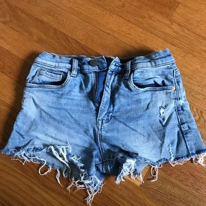 Blank NYC cutoff denim shorts